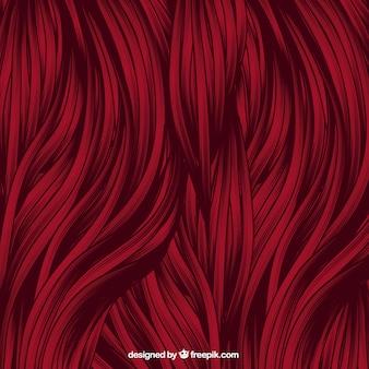 Fond rouge de cheveux
