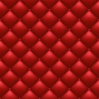 Fond rouge matelassé
