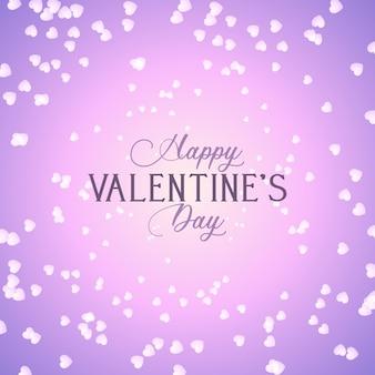 Fond de saint valentin avec coeurs