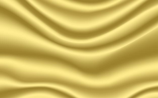 Fond de satin de soie or fond de texture lisse