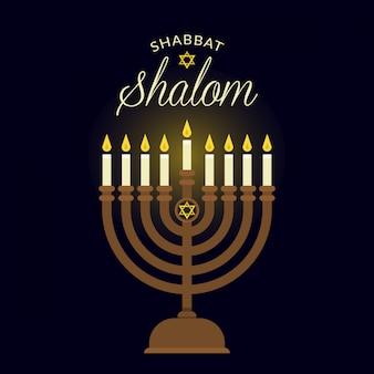 Fond de shabbat shalom