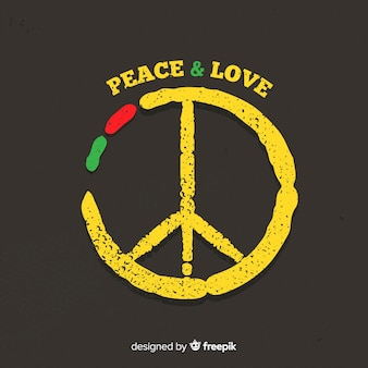 Fond de signe de paix