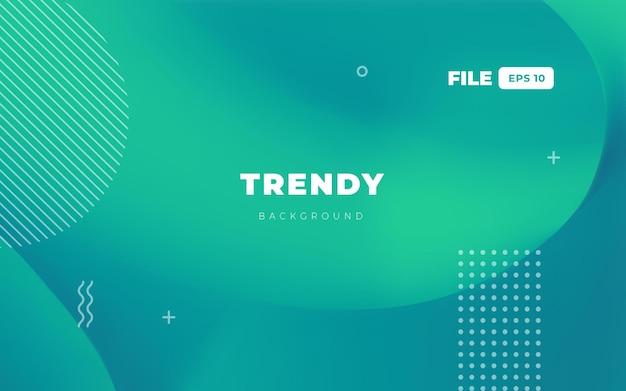 Fond de site web turquoise à la mode