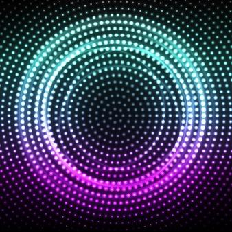Fond de soirée disco abstract vector.