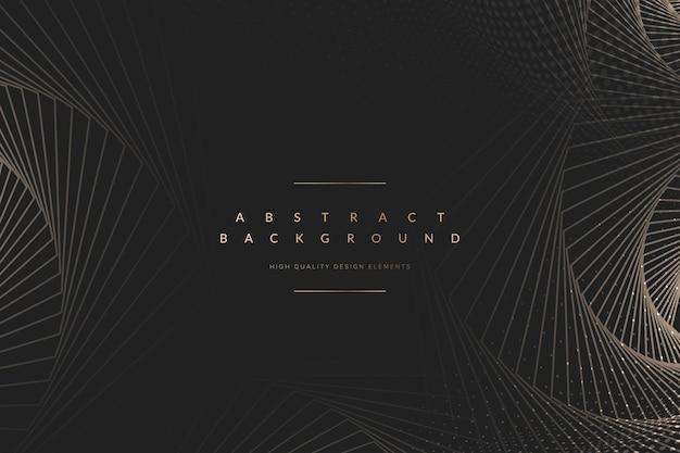 Fond sombre abstrait tech