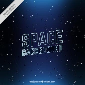 Fond sombre de l'espace