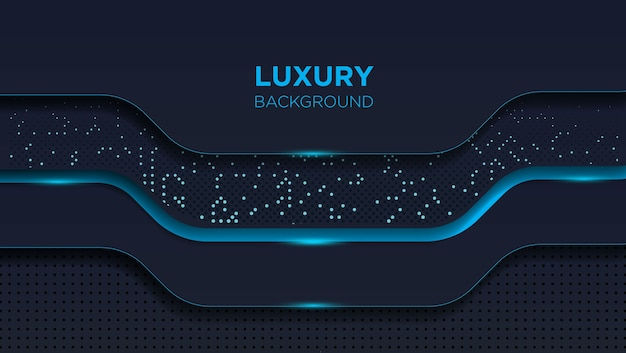 Fond sombre de luxe abstrait