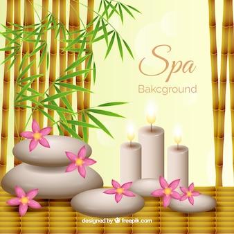 Fond de spa décoratif