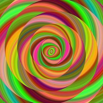 Fond spirale multicolore