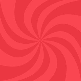 Fond spirale rouge