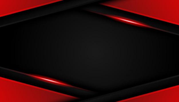 Fond de sport moderne de luxe lignes rouges vives
