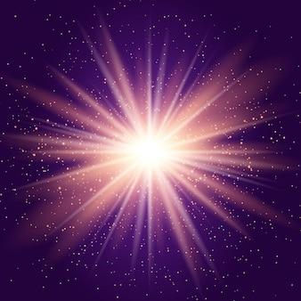 Fond de starburst