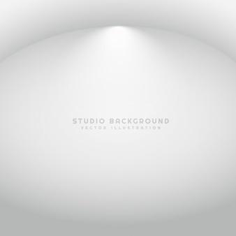 Fond de studio avec projecteur