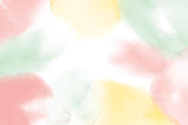 Fond de style aquarelle abstraite