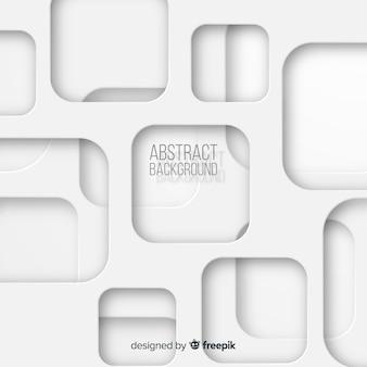 Fond de style de papier blanc 3d