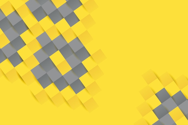 Fond de style papier jaune et gris