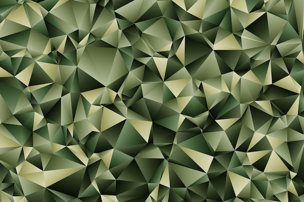 Fond de style polygonale abstrait composé de formes de triangles géométriques