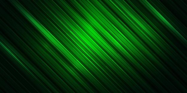 Fond de style sport abstrait rayé. fond d'écran de ligne de couleur verte.