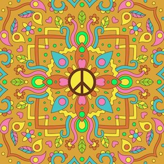 Fond de symbole de paix