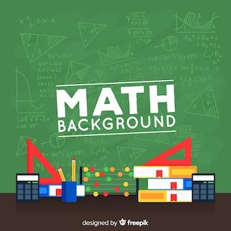 Fond de tableau math