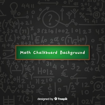 Fond de tableau mathématique réaliste