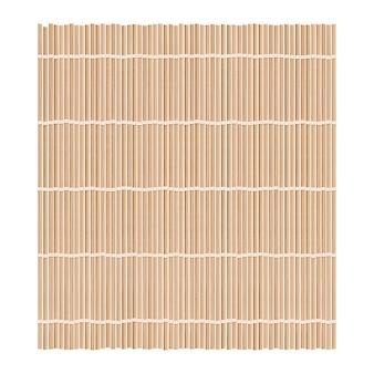 Fond de tapis de bambou pour faire des sushis. vue de dessus. makisu ou rideau de texture réaliste.