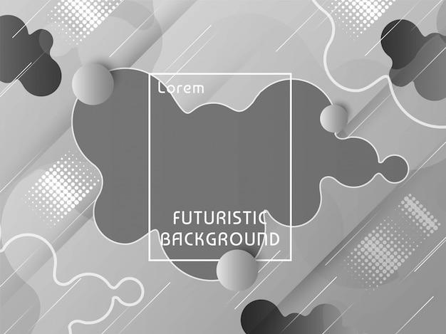 Fond techno futuriste moderne