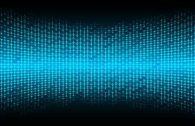Fond de technologie abstraite légère