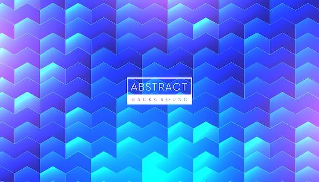 Fond de technologie abstraite moderne avec néon futuriste et surface brillante