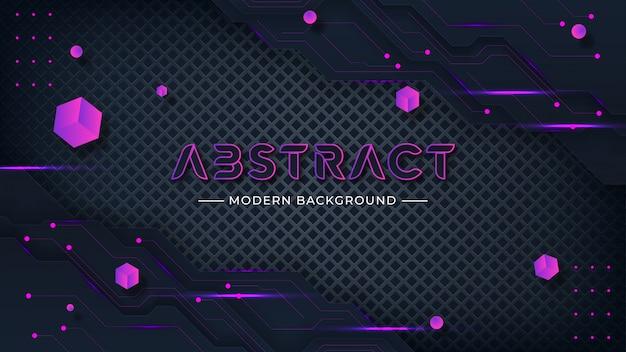 Fond de technologie abstraite moderne