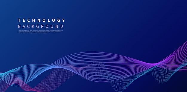 Fond de technologie abstraite.