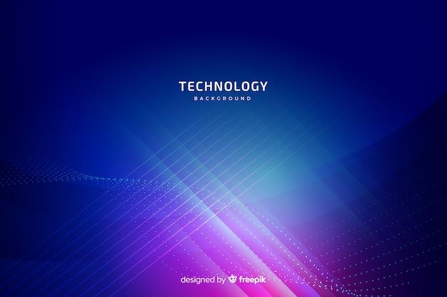 Fond de technologie bleue