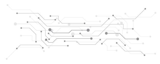 Fond de technologie circuit imprimé hitech communication concept innovation abstrait