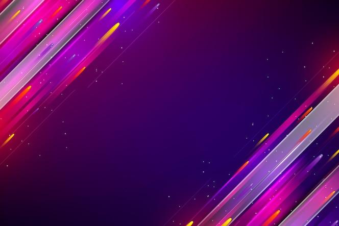 Fond de technologie coloré dégradé