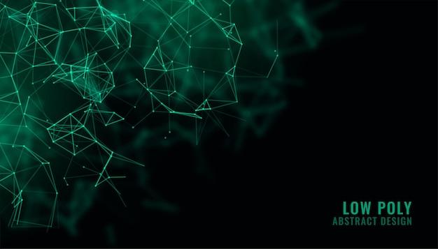 Fond de technologie de fil de réseau numérique