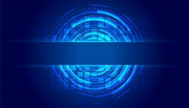 Fond de technologie futuriste de lignes de haute technologie