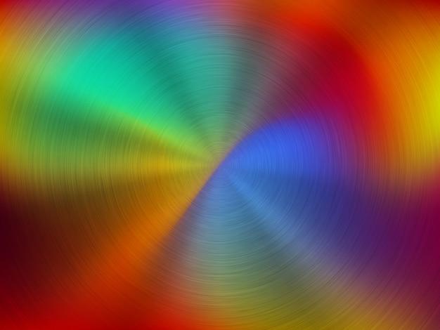 Fond de technologie de gradient métallique