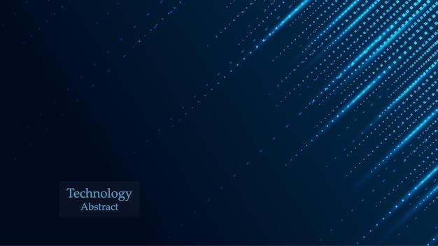 Fond de technologie hi-tech