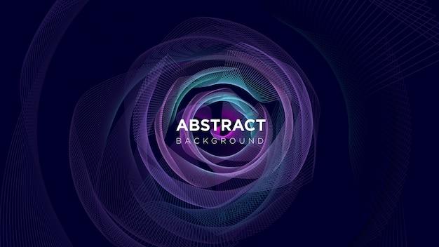 Fond de technologie de ligne abstraite