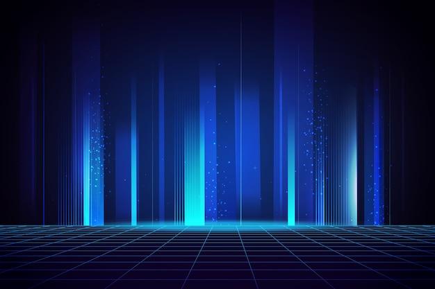 Fond de technologie lumineux