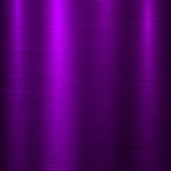 Fond de technologie de métal violet