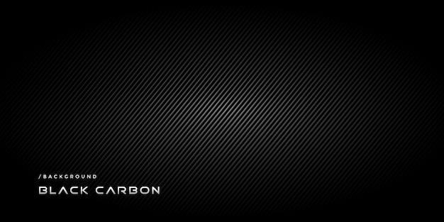 Fond de technologie moderne de carbone noir