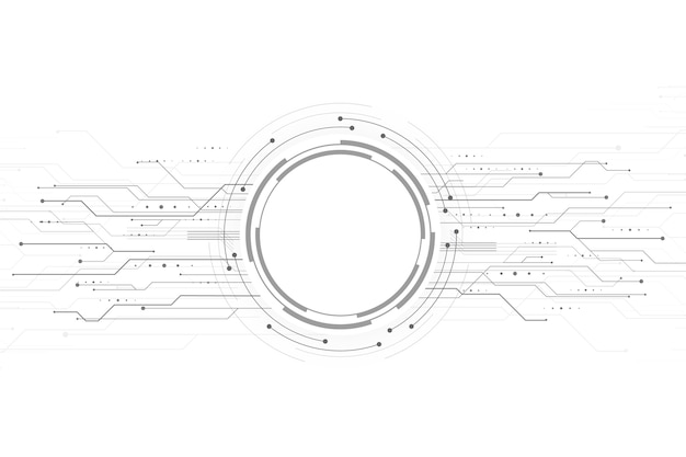 Fond de technologie moderne