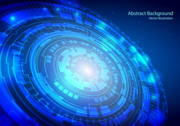 Fond de technologie numérique concept.
