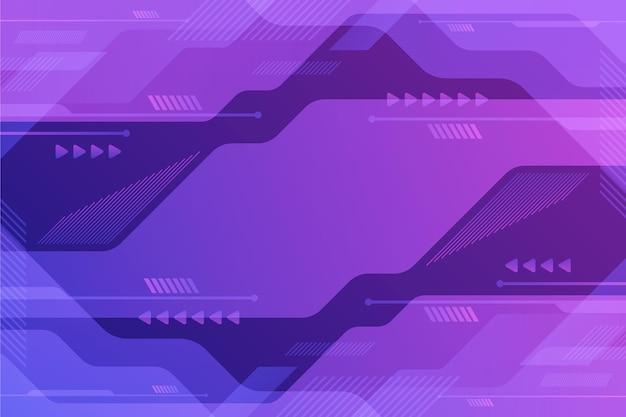 Fond de technologie violet dégradé