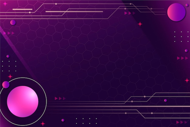 Fond de technologie violet