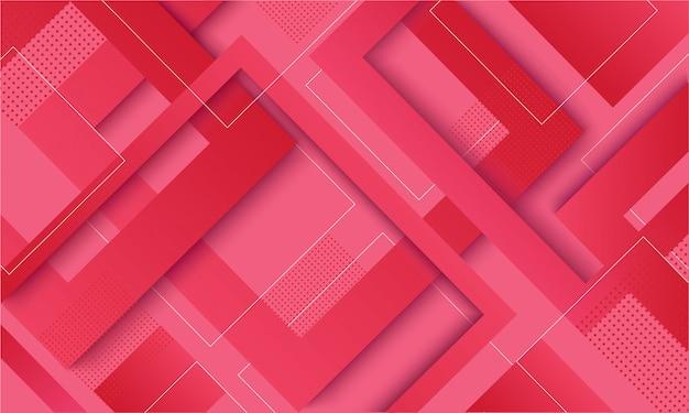 Fond tendance dégradé carré rose moderne