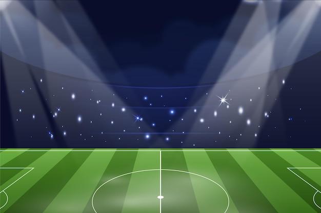 Fond de terrain de football dégradé