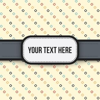 Fond de texte avec un motif coloré. utile pour les présentations, la publicité et le scrapbooking.