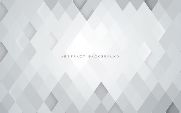 Fond de texture abstrait polygone blanc géométrique